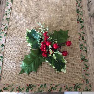 Handmade Christmas Runner